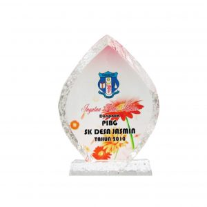 Crystal Plaques CR8126 – Exclusive Iceberg Crystal Glass Awards