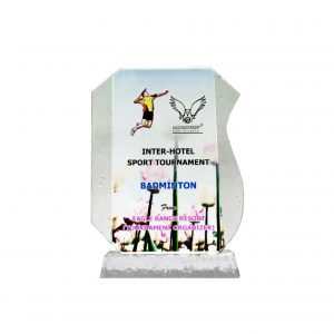 Crystal Plaques CR8127 – Exclusive Crystal Glass Awards