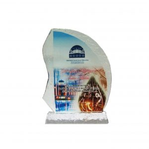 Crystal Plaques CR8128 – Exclusive Crystal Glass Awards