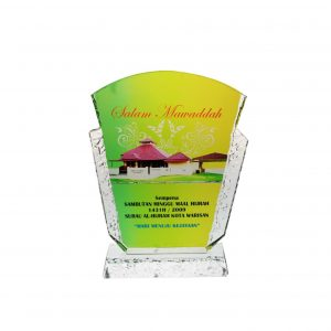 Crystal Plaques CR8129 – Exclusive Crystal Glass Awards