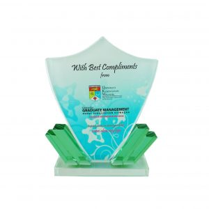 Crystal Plaques CR8160 – Exclusive Shield Crystal Glass Awards