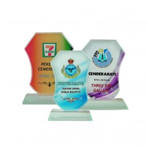 Crystal Plaques CR8171 – Exclusive Crystal Glass Awards