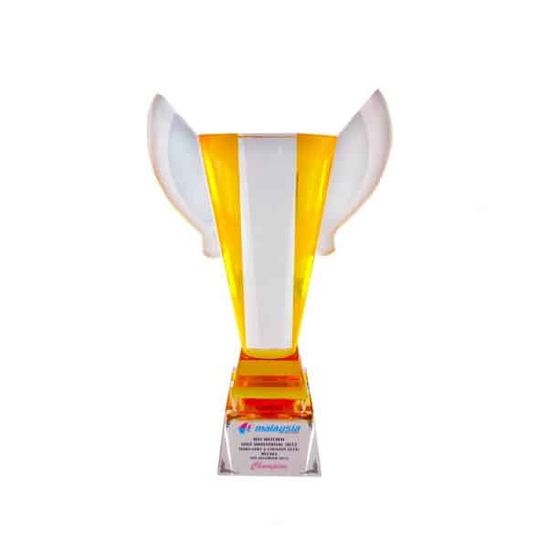 Crystal Trophies CR8185 – Exclusive Crystal Glass Awards