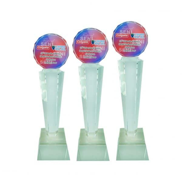 Crystal Trophies CR8189 – Exclusive Crystal Glass Awards