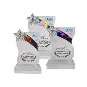 Crystal Plaques CR8199 – Exclusive Crystal Glass Star Awards