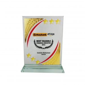 Crystal Plaques CR8203 – Exclusive Crystal Glass Awards