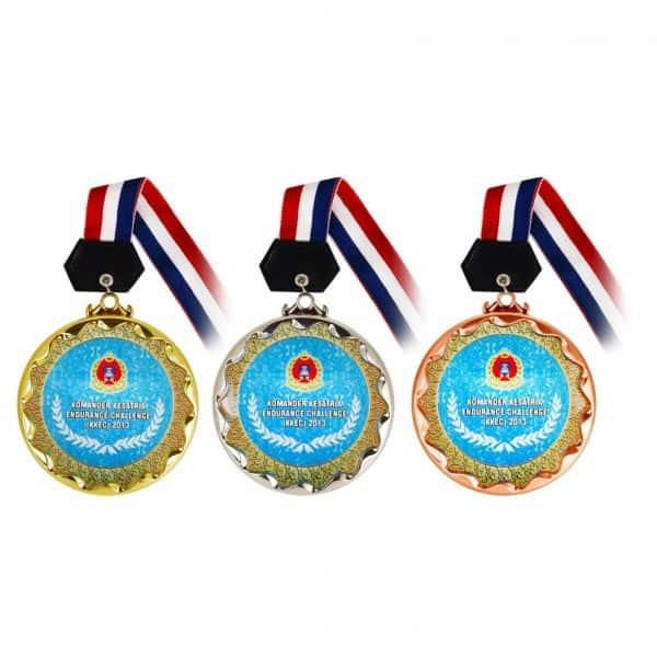 Crystal Medals CR8205 – Crystal Hanging Medal (GOLD, SILVER, BRONZE)