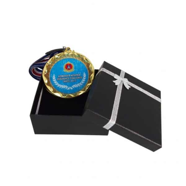 Crystal Medals CR8206 – Crystal Hanging Medal with Gift Box (GOLD, SILVER, BRONZE)