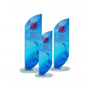 Crystal Plaques CR8222 – Exclusive Crystal Glass Awards