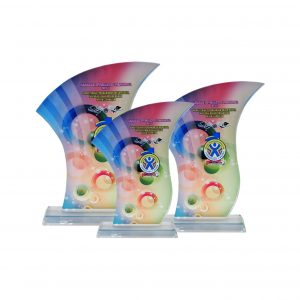 Crystal Plaques CR8223 – Exclusive Crystal Glass Awards