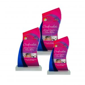Crystal Plaques CR8249 – Exclusive Crystal Glass Awards