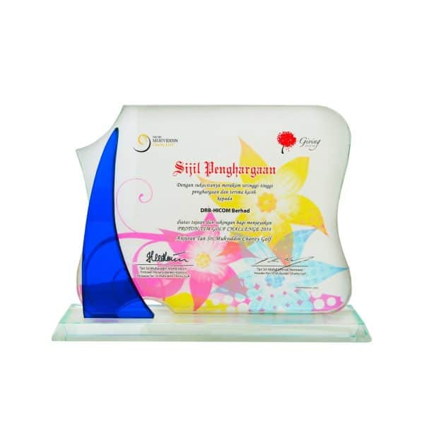 Crystal Plaques CR8254 – Exclusive Crystal Glass Awards