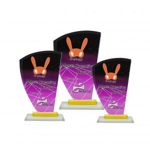 Crystal Plaques CR8257 – Exclusive Crystal Glass Awards