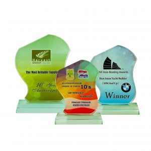 Crystal Plaques CR8259 – Exclusive Crystal Glass Awards