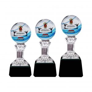 Crystal Trophies CR8262 – Exclusive Crystal Glass Awards