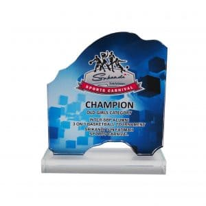 Crystal Plaques CR8288 – Exclusive Crystal Glass Awards