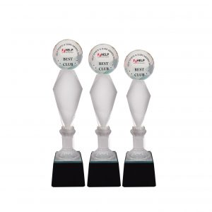 Crystal Trophies CR8297 – Exclusive Crystal Glass Awards