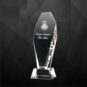 Crystal Plaques CR9041 – Exclusive Crystal Award