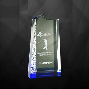 Crystal Plaques CR9051 – Exclusive Crystal Award