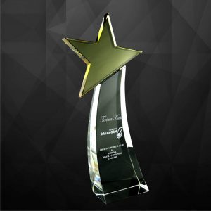 Crystal Plaques CR9053 – Exclusive Crystal Star Award