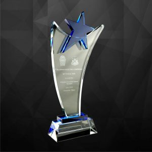 Crystal Plaques CR9056 – Exclusive Crystal Star Award