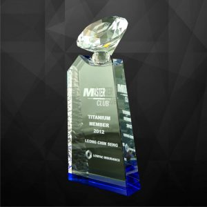 Crystal Plaques CR9060 – Exclusive Crystal Diamond Award