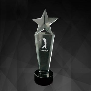 Crystal Trophies CR9078 – Exclusive Crystal Star Award