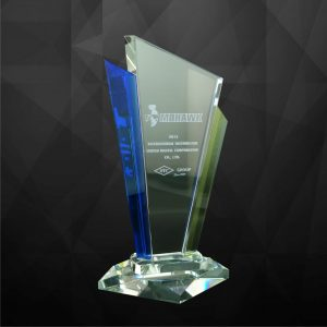 Crystal Plaques CR9084 – Exclusive Crystal Award