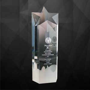 Crystal Plaques CR9085 – Exclusive Crystal Star Award