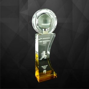 Crystal Trophies CR9094 – Exclusive Crystal Globe Award