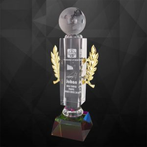 Crystal Trophies CR9107 – Exclusive Crystal Globe Trophy