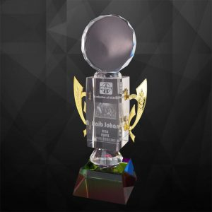 Crystal Trophies CR9112 – Exclusive Crystal Trophy