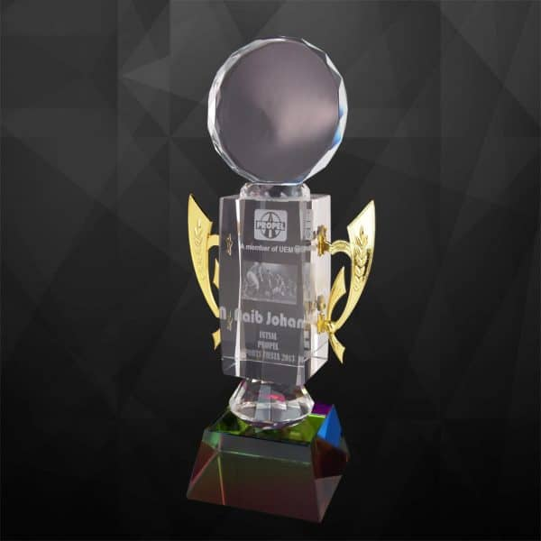 Crystal Trophies CR9112 – Exclusive Crystal Trophy