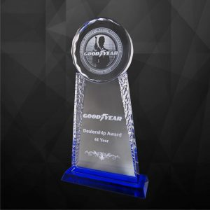 Crystal Plaques CR9115 – Exclusive Crystal Award