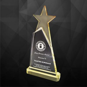 Crystal Plaques CR9119 – Exclusive Crystal Star Award