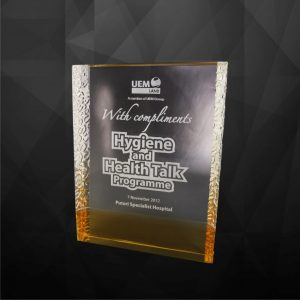 Crystal Plaques CR9122 – Exclusive Crystal Award
