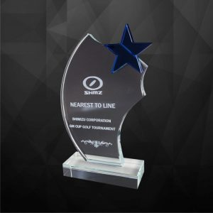 Crystal Plaques CR9128 – Exclusive Crystal Star Award