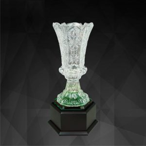 Crystal Trophies CR9131 – Exclusive Crystal Vase Trophy