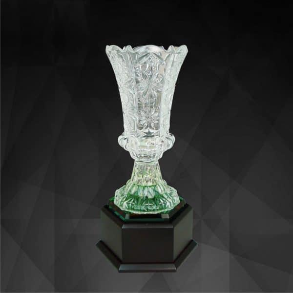 Crystal Trophies CR9131 – Exclusive Crystal Vase Trophy