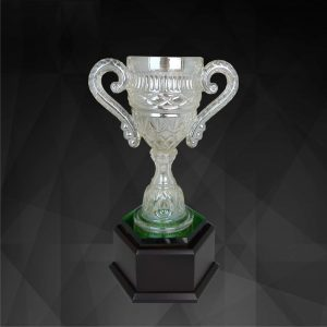 Crystal Trophies CR9132 – Exclusive Crystal Vase Trophy