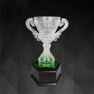 Crystal Trophies CR9134 – Exclusive Crystal Vase Trophy