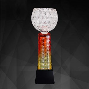 Crystal Trophies CR9185 – Exclusive Crystal Bowl Trophy