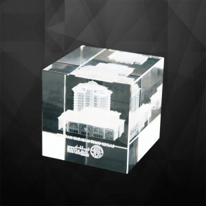 Crystal Trophies CR9186 – Exclusive Cube Crystal Awards
