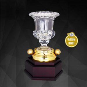 Crystal Trophies CR9200 – Exclusive Crystal Golf Trophy