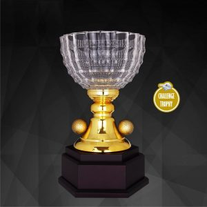 Crystal Trophies CR9201 – Exclusive Crystal Golf Trophy