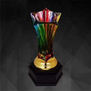 Crystal Trophies CR9242 – Exclusive Crystal Vase Trophy