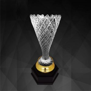 Crystal Trophies CR9243 – Exclusive Crystal Vase Trophy
