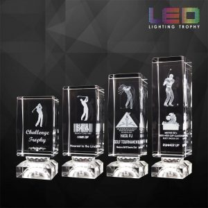 LED Trophies CR9265 – Cuboid LED Lighting Trophy