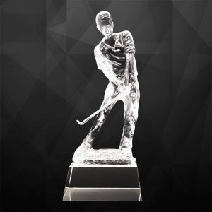 Crystal Trophies CR9275 – Exclusive Crystal Golf Trophy