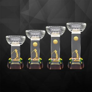 Crystal Trophies CR9285 – Exclusive Crystal Golf Trophy